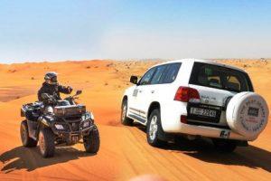Dubai Desert 4x4 Dune Bashing, Self-Ride 30min ATV Quad, Camel Ride,Shows,Dinner